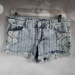 Cute Low Rise Lace Shorts